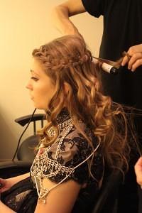 ella henderson waterfall braid xfactor hair