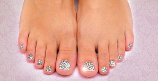 swarovski toes after