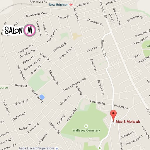 salon m map