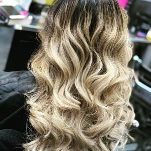 balayage & ombre hair colours at salon-m hair salon in wallasey