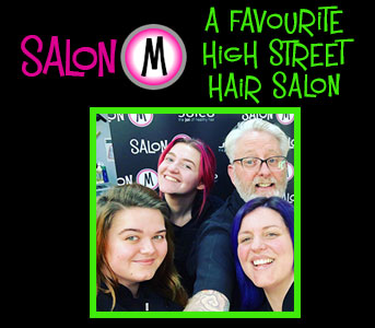 Salon-M Named as One of UK's Favourite Hair Salons