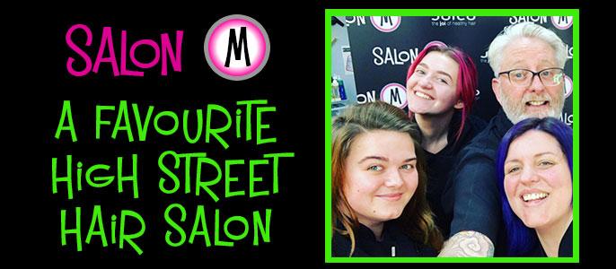 Favourite High Street Hair Salons – Salon-M Hair Salon in Wallasey, The Wirral