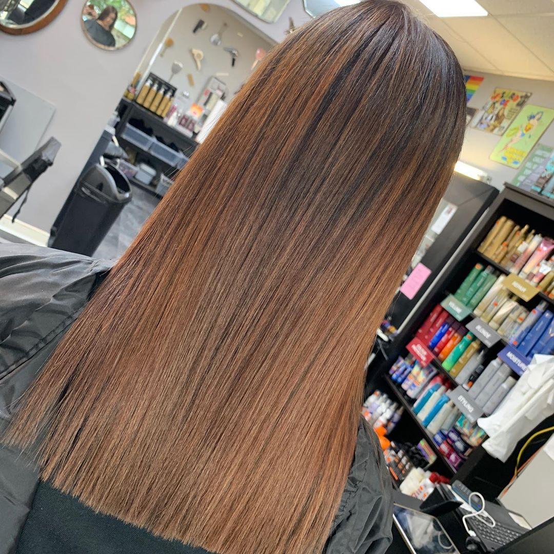 Autumn Hair Colours