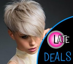 LATE DEALS in the wirall at salon m hairdressers