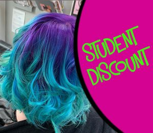 STUDENT DISCOUNT at top wirral hair salon - salon m