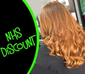 nhs discount at salon m hairdressing in wirral, liverpool