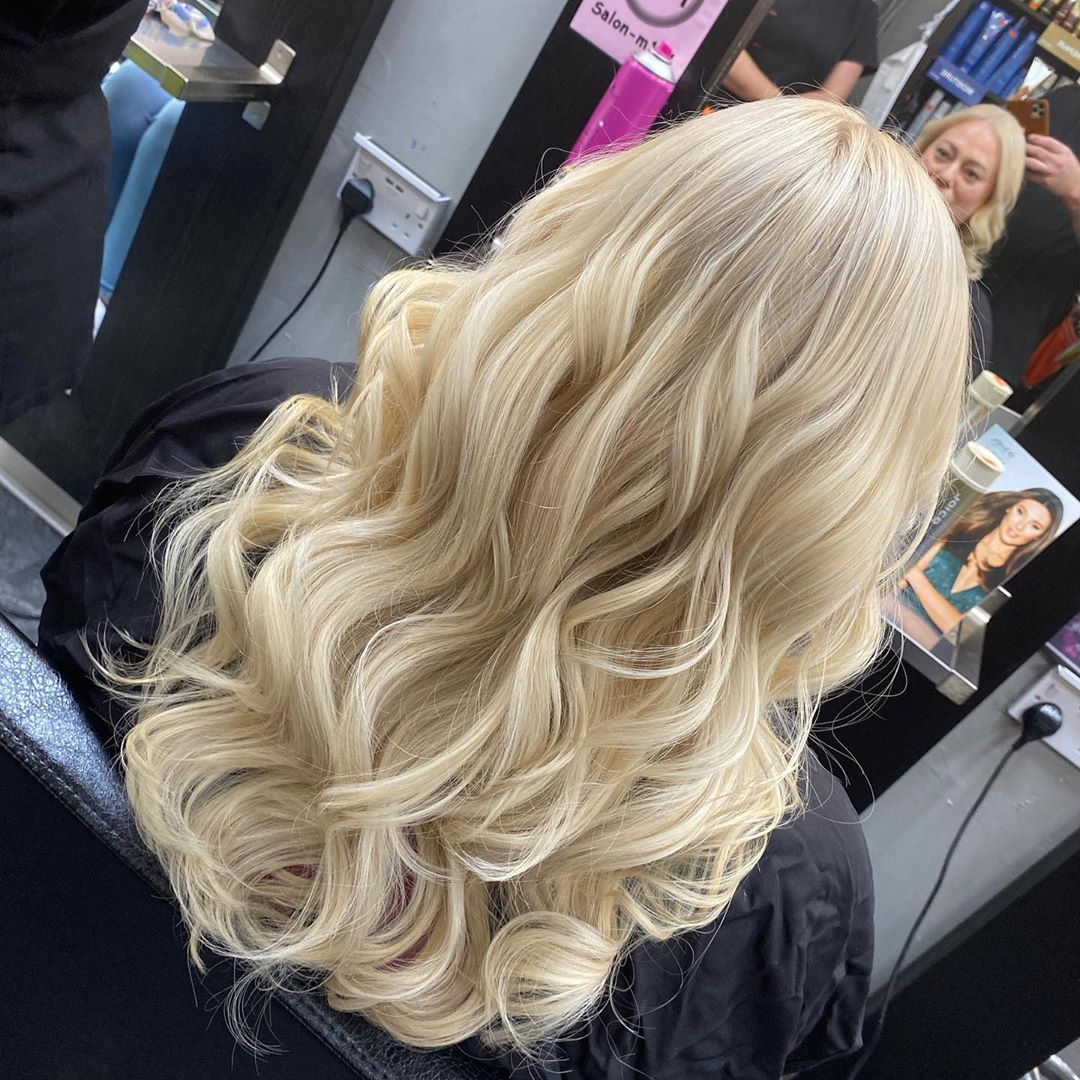 Hand Painted Balayage at Salon M hair salon in Wallasey, Wirral