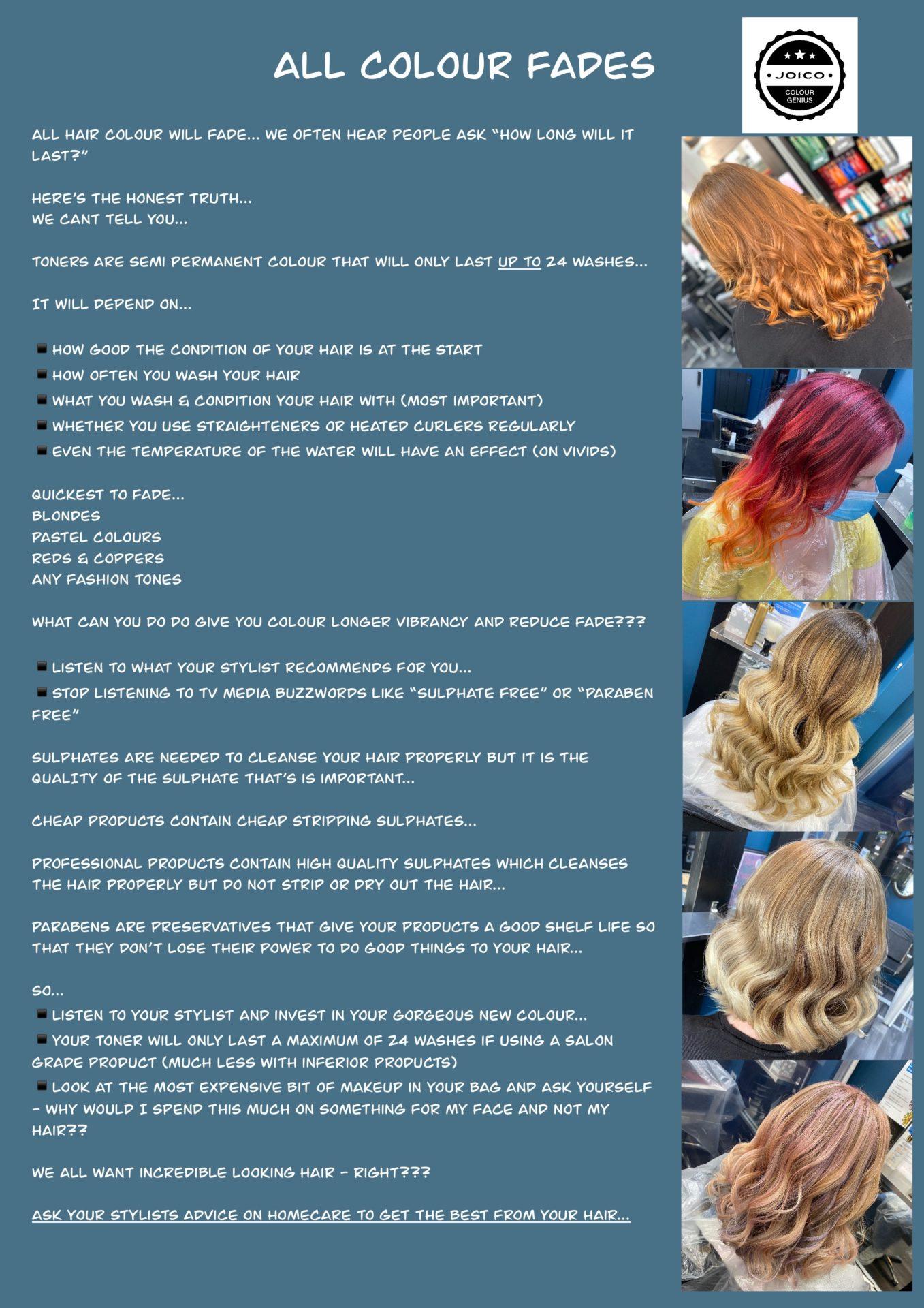 vibrant hair colours at salon m hair salon in wallasey 1
