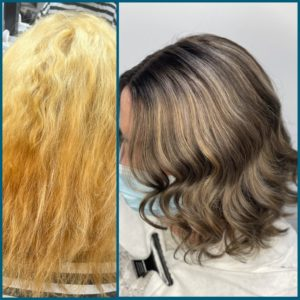 balayage hair colour packages at salon m hair salon in wallasey, Wirral
