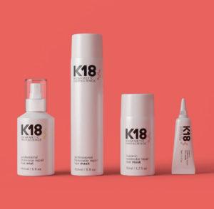 K18 Molecular repair range at Salon-M hair salon, Wallasey