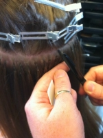 bonded hair extensions in Wirral