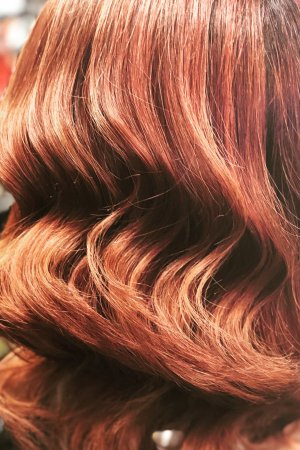 Lovely  Red Ombre result