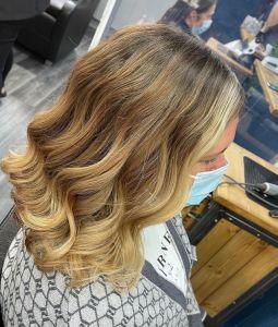 face frame colour at Salon-M hair salon in Wallasey
