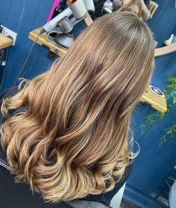 lowlights at Salon-M hair salon in Wallasey