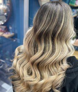 Face Frame Highlights at Salon-M hair salon in Wallasey
