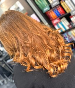 Balayage Transformation at Salon-M hair salon in Wallasey