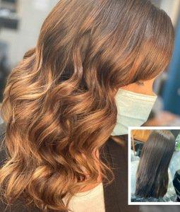 Balayage Maintenance at Salon-M hair salon in Wallasey
